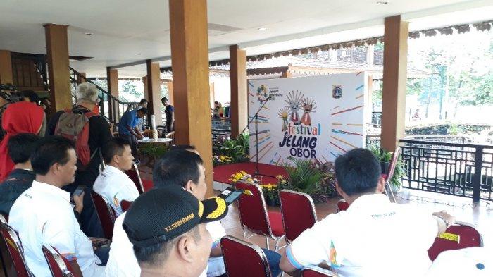 Wali Kota Jakarta Selatan Dampingi Sandiaga Uno Hadiri Acara Jelang Obor Asian Games 2018