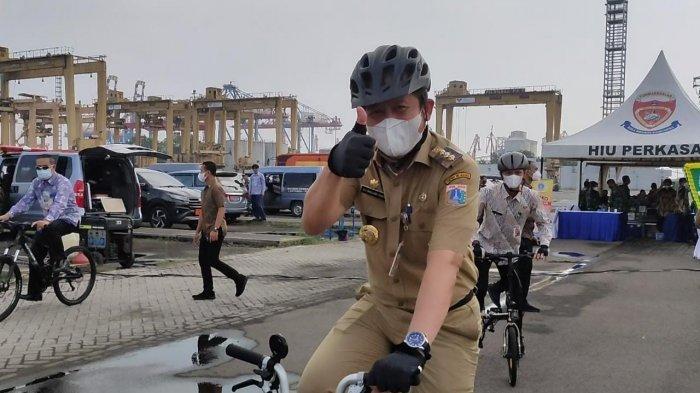 Ikuti Seruan Gubernur Peringati Hari Sepeda Dunia, Wali Kota Minta ASN di Jakut Gencarkan Bersepeda