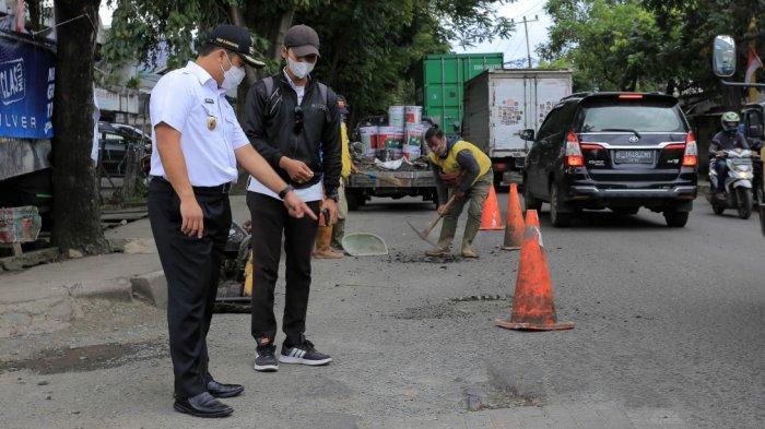 Banyak Korban Kecelakaan, Wali Kota Tangerang Pantau Perbaikan Jalan Dekat Bandara Soekarno-Hatta
