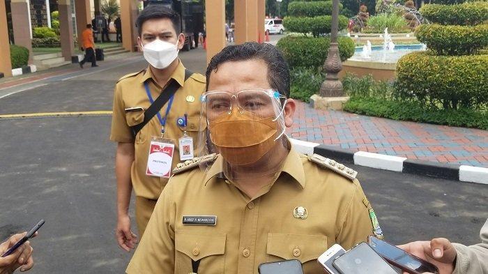 Wali Kota Tangerang, Arief R Wismansyah saat dijumpai di Pusat Pemerintahan Kota Tangerang soal vaksinasi massal, Selasa (15/6/2021).