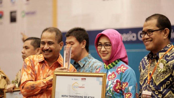Pemkot Tangerang Selatan Raih Penghargaandari Kementerian Pariwisata