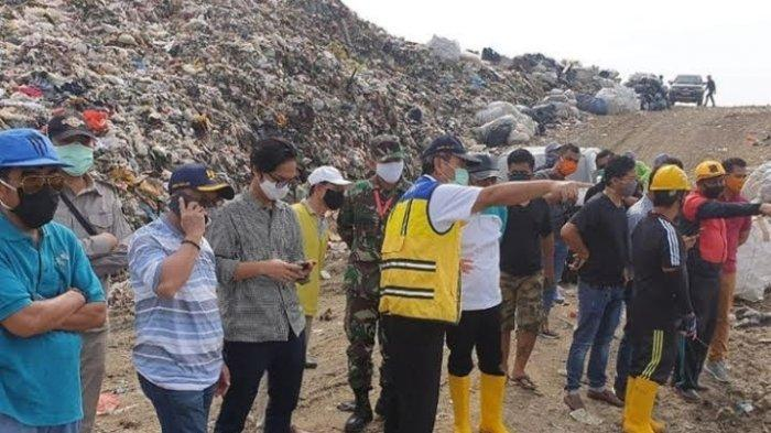 Temui Wali Kota Airin dan Tinjau Longsor Sampah Cipeucang, Ini Usulan Kepala BBWSCC
