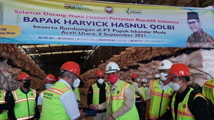 Wamentan Dorong Pengoperasian Kembali Pabrik Pupuk PIM Satu