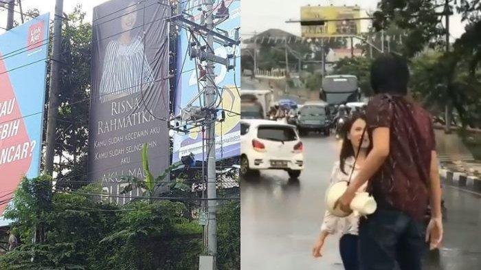 Geram Kekasihnya Selingkuh Pria Ini Putuskan Pacarnya Lewat Baliho Lengkap Dengan Foto Di Semarang Halaman 1 Tribun Jakarta