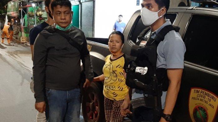 Terungkap, Polisi Tangkap Wanita yang Diduga Jadi Penyuplai Batu saat Tawuran di Manggarai