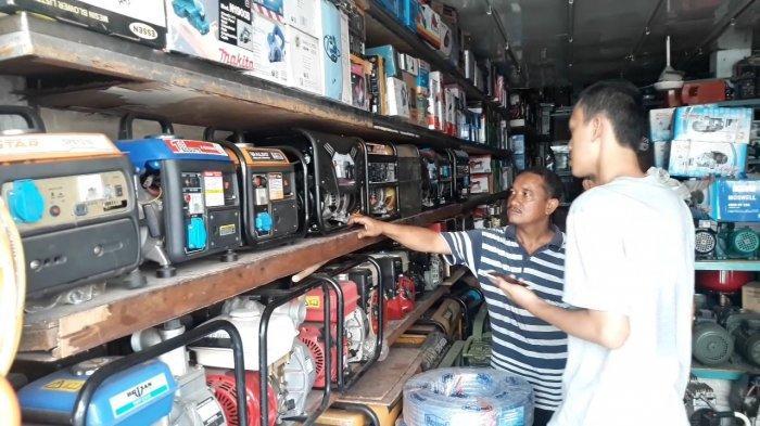 Pemadaman Listik, Penjual Genset di Bekasi Mulai Kehabisan Stok Tapi Omzet Meningkat Ratusan Juta