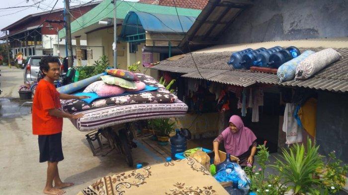 Banjir di Periuk Kota Tangerang Mulai Surut, Sebagian Pengungsi Sudah Balik ke Rumah