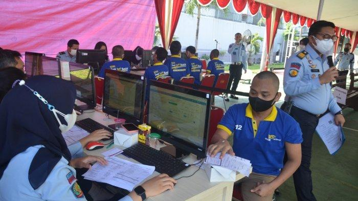 3.508 Warga Binaan di Rutan dan Lapas Salemba Antusias Ikut Suntik Vaksin Covid-19