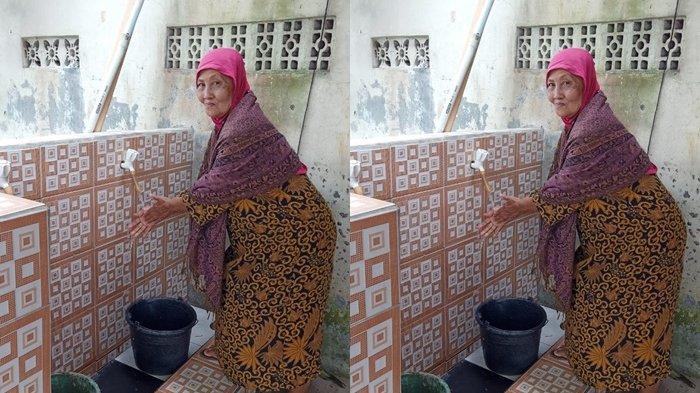 Warga Desa Benda Sukabumi Difasilitasi Saluran Air Bersih