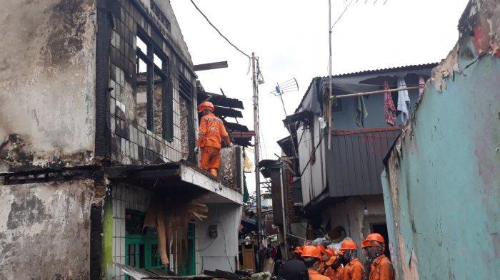Polisi Telah Periksa Pemilik Rumah yang Diduga Sumber Kebakaran di Krukut
