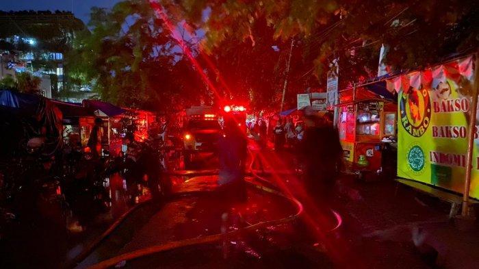 Kipas Angin Jadi Penyebab Kebakaran Belasan Rumah di Angke Tambora