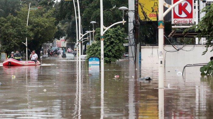 Wagub Riza Patria Perintahkan Anak Buahnya Cek Pengembang Nakal Jadi Penyebab Banjir di Jakarta