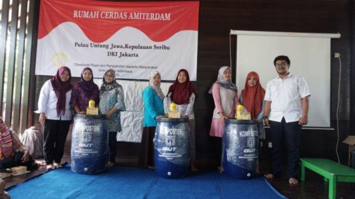 Warga Pulau Untung Jawa Diberikan Pelatihan Pengelolaan Bank Sampah