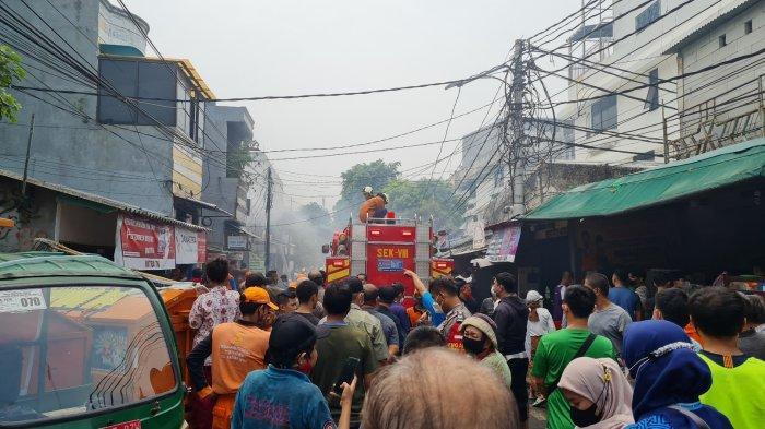 Kebakaran Melanda Warung Soto Lamongan dan Rumah Tinggal di Sawah Besar, Ketua RW: Ada 2 Ledakan
