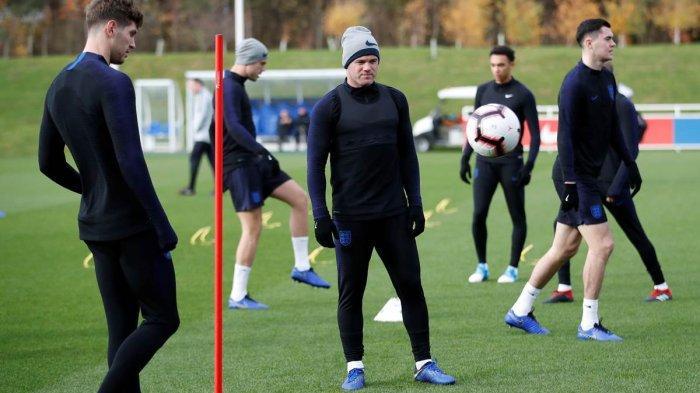 Di Laga Terakhirnya bersama Inggris, Rooney tak Menuntut Apa-apa