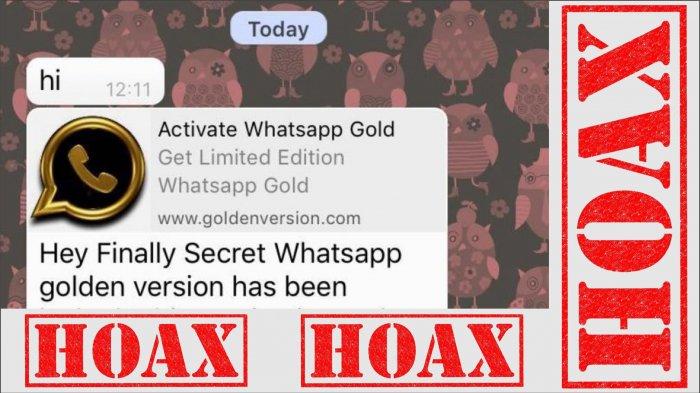 Jangan Ikuti Pesan Upgrade Whatsapp ke Whatsapp Gold, Resiko Ponsel Disadap