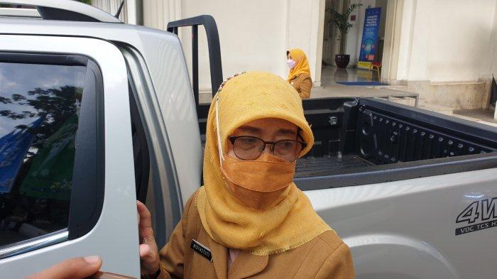 Kepala Dinas Kesehatan DKI Jakarta Widyastuti saat ditemui di Balai Kota Jakarta, Selasa (15/6/2021).