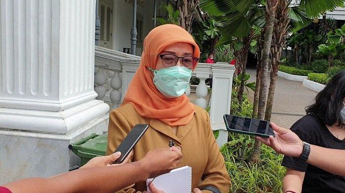Kepala Dinas Kesehatan DKI Jakarta Widyastuti saat ditemui di Balai Kota, Selasa (30/11/2020).