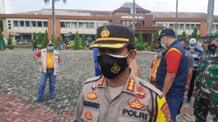 1.163 Personel Dikerahkan dalam Rangka Operasi Pengamanan Tahun Baru 2021 di Kota Bekasi
