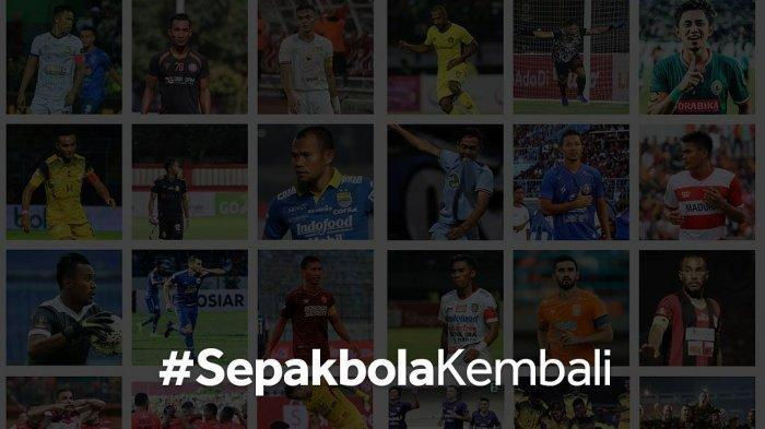 Winger Persija Jakarta Riko Simanjuntak rayakan kembalinya kompetisi Liga 1 2021
