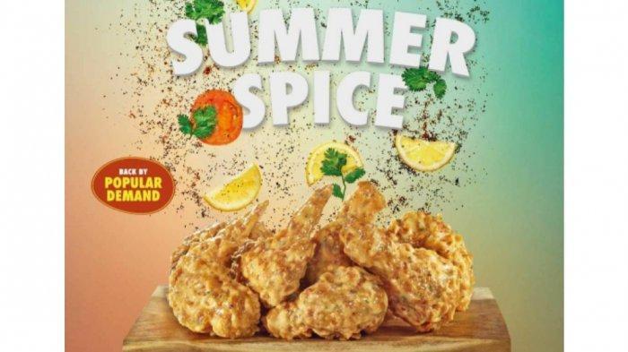 Wingstop Hadirkan Flavor Summer Spice, Penyuka Makanan Pedas Boleh Coba