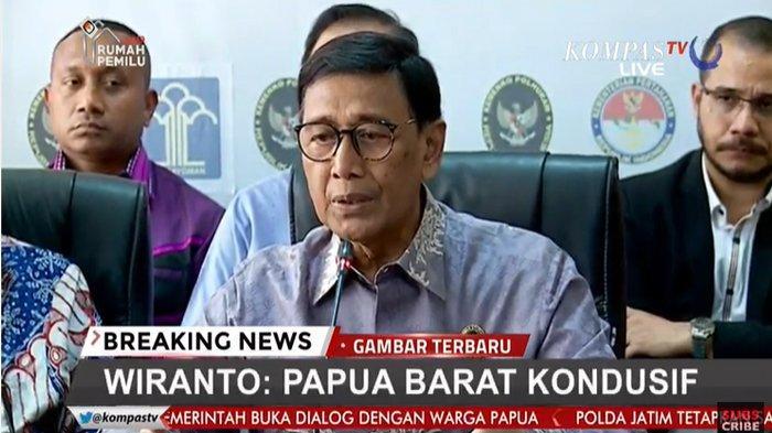 Ditanya Rencana Kedatangan Jokowi ke Papua, Wiranto Tertawa Kecil: Gak Usah Anda Dorong-Dorong