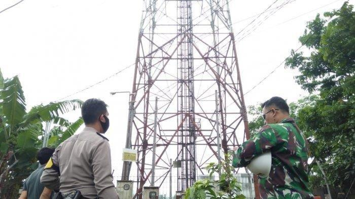 Stres Usaha WOnya Sepi Peminat Sejak Pandemi Covid-19, AR Coba Bunuh Diri Naik Tower Telekomunikasi