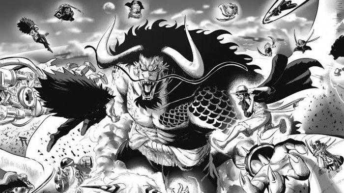 Wujud Hybrid Kaido Bakal Menyerupai Ikan Mas, Simak Bocoran Manga One Piece Chapter 1005