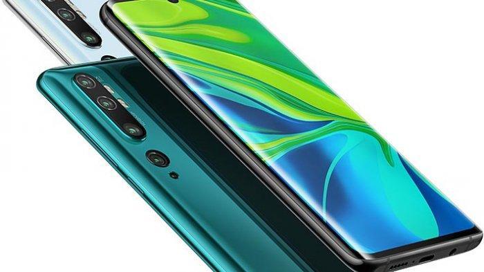 Berikut Harga Ponsel Terbaru Xiaomi di Bulan Februari 2020, Mi Note 10 Pro Sampai Redmi Note 8 Pro