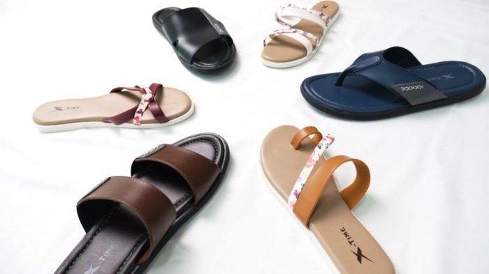 Sandal Produksi dalam Negeri X-Time Siap Menggaet Konsumen Lewat Penjualan Digital