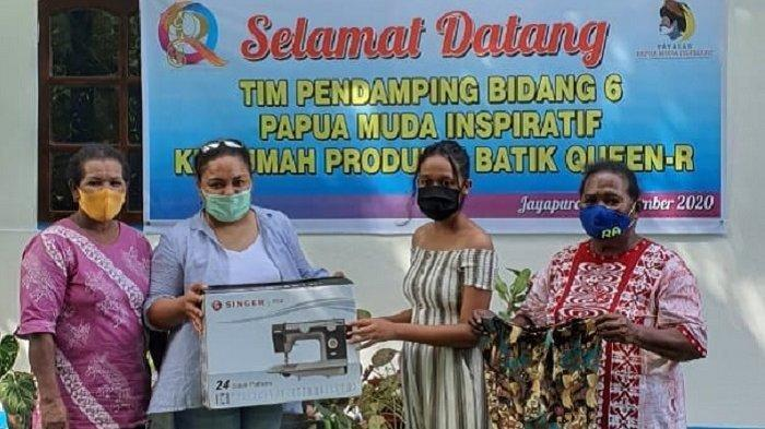 Kembangkan Kreativitas, Yayasan Papua Muda Inspiratif Beri Pembinaan untuk Usaha Batik