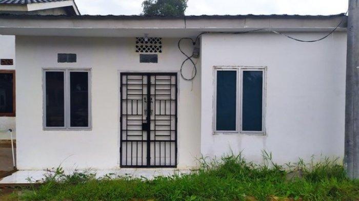 Yesi Indola Sari ternyata memiliki rumah di Perumahan Pelangi 1 Kelurahan Bukit Baru, Kecamatan IB 1, Palembang.