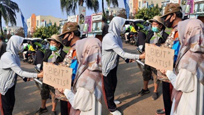 Keseruan YOT Depok Peringati Hari Lingkungan Hidup Sedunia, Bagi-bagi Bibit Gratis untuk Masyarakat