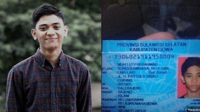 YouTuber Asal Sulawesi, Luthfi Ramadhan Meninggal Dunia Terlindas Truk, Pelaku Melarikan Diri