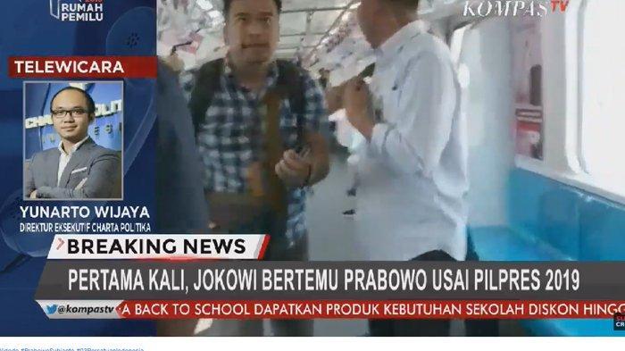 Kehadiran Kepala BIN Saat Jokowi & Prabowo Bertemu Disorot, Yunarto Singgung Sosok di Belakang Layar