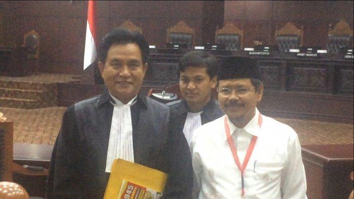 Ibaratkan Jadi Pengacara Koruptor, Ismail Yusanto Sebut Belum Tentu Yusril Mendukung Jokowi-Maruf