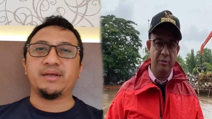 Dituding Tertawakan Anies yang Tinjau Banjir, Yusuf Mansur Beri Penjelasan: Tergantung Siapa Ngeliat
