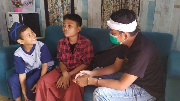 PILU 2 Bocah di Karawang, Ibunda Wafat Ayah Sakit Jiwa, Kakak Sempat Disangka Maling