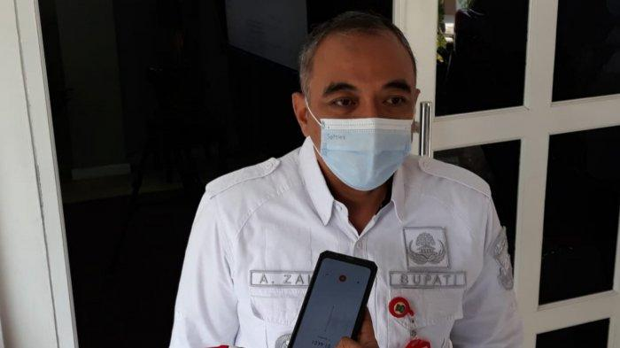 Bupati Tangerang Ahmed Zaki Iskandar saat ditemui wartawan di Pendopo Bupati, Kota Tangerang, Jumat (2/7/2021).