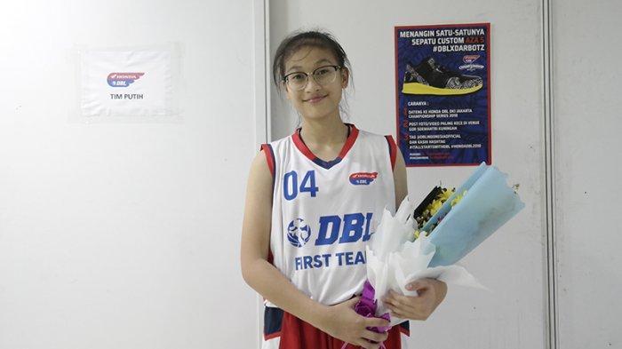Zefanya Angelina Tak Menyangka Bisa Terpilih ke DBL Camp 2018