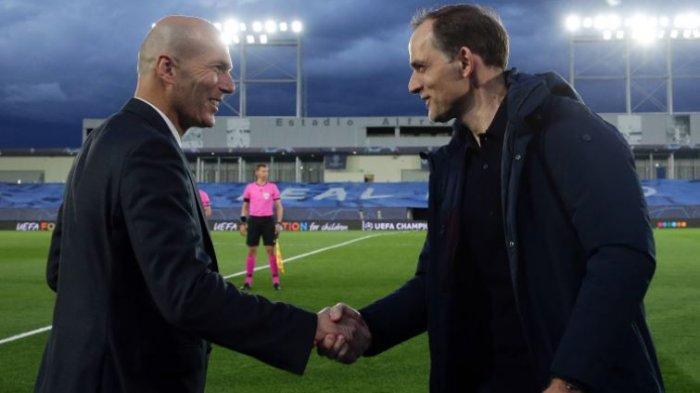 Real Madrid Ditahan Imbang Chelsea, Zidane: Kami Masih Hidup