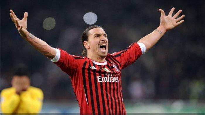 HASIL Liga Italia: Kemenangan AC Milan atas Inter Milan, Dua Gol Diborong Zlatan Ibrahimovic
