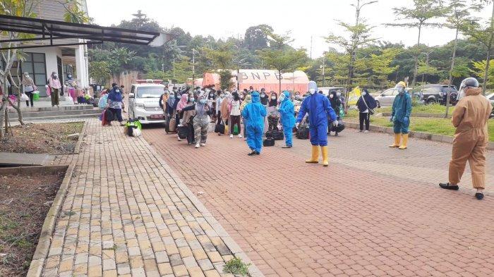 Zona 1 Dipugar, 100 Pasien Covid-19 Antusias Huni Tenda Glamping Rumah Lawan Covid-19 di Tangsel