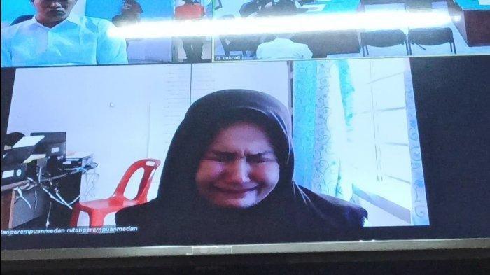 Zuraida Hanum Minta Belas Kasihan di Persidangan Kasus Hakim Jamaluddin: Saya Hanya Manusia Lemah