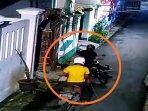 RX King Rp 40 Juta Raib Dibawa Kabur Maling di Koja, Aksi Dua Pelaku Terekam CCTV