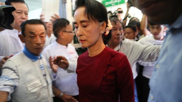 Setelah Digerebek, Keberadaan Aung San Suu Kyi dan Presiden Myanmar Tak Diketahui