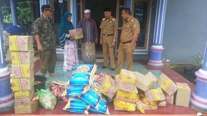 Dinas Sosial Kabupaten Sarolangun Salurkan Bantuan KPM dan PKH dari Kementerian Sosial