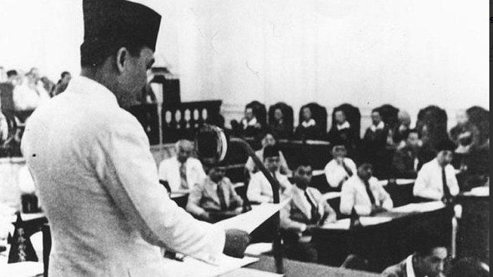 Pidato Bung Karno 1 Juni 1945 pada Sidang BPUPKI, Soekarno Sebut Sarinem Samiun & Marhaen