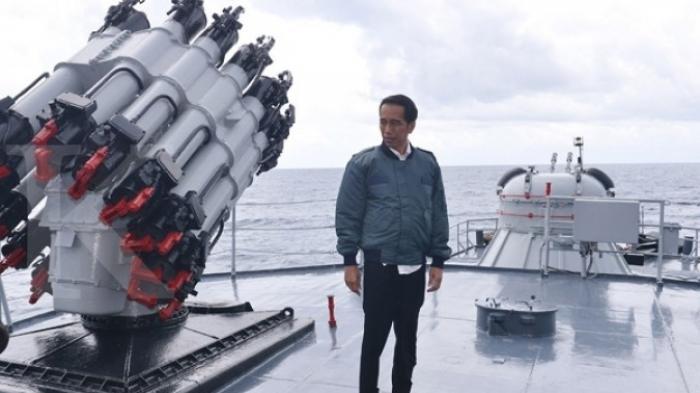 Begini Reaksi Presiden Jokowi Soal Keberadaan China di Laut Natuna : Tak Ada Tawar Menawar