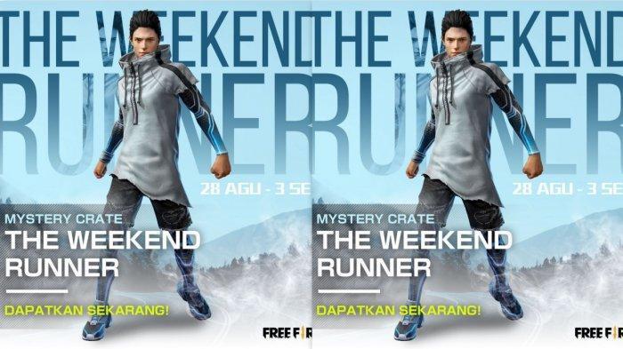 3 Kode Redeem Free Fire (FF) Berlaku 28 Agustus-3 September 2020 Bundle The Weekend Runner